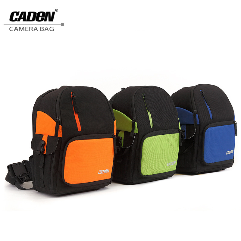 CADeN Waterproof Digital DSLR Bags, Camcorder Bag Photo SLR Camera Soft Bag Video Shoulder Bags Traveling Backpack for Camera