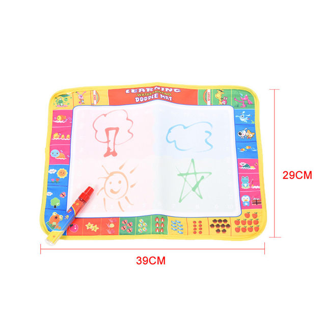 Online Shop 2 Style 39X29cm Baby Kids Drawing Toys Fruit ...