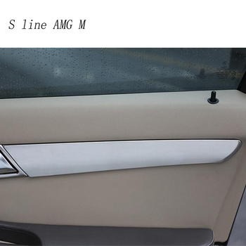 Car styling Auto Handle panel Covers Trim Door Bowl Stickers Trim for Mercedes Benz R Class W251 R300 320 350 400 Accessories