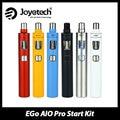 Original Joyetech eGo Kit AIO Pro Vaporizador E cigarro 2300 mAh Bateria embutida e Parte Superior Do Tanque de 4 ml de enchimento Todos Os-in-One Starter Kit