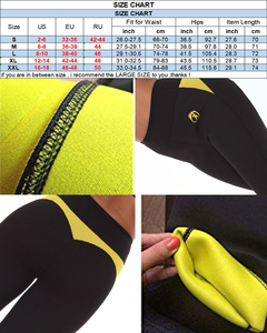 Image 5 - NINGMI ince pantolon karın kontrol külot zayıflama kısa neopren ter vücut şekillendirici egzersiz bel eğitmen Butt kaldırıcı sıkı kapriler