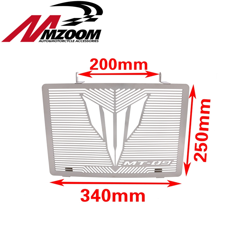 For YAMAHA MT 09 MT-09 Tracer 2015 Motorcycle Accessories Radiator Grille Guard Cover Protector motorcycle radiator protective cover grill guard grille protector for kawasaki z1000sx ninja 1000 2011 2012 2013 2014 2015 2016