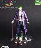 6 Inch Harley Quinn Batman Suicide Squad Joker 1 12 PVC Action Toy Figures Joint Movable