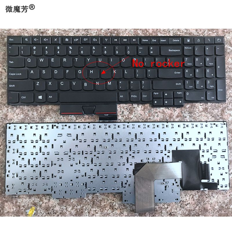 US New Keyboard FOR Lenovo FOR ThinkPad FOR Edge E530 E530C E535 E545 04Y0301 0C01700 V132020AS3 Laptop Keyboard No rocker gzeele new us laptop keyboard for lenovo for ibm thinkpad edge e530 e530c e535 e545 04y0301 0c01700 v132020as3 without backlight