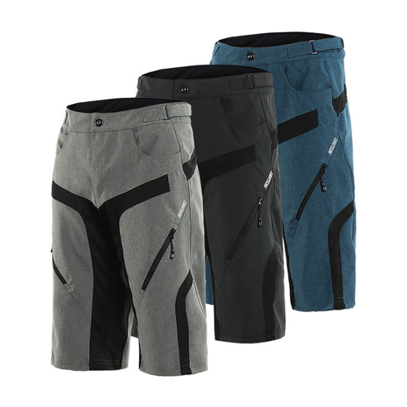Breathable Loose Outdoor Sports MTB Riding Road Bike Short Trousers Summer Men's Cycling Shorts Jersey With Gel Underwear