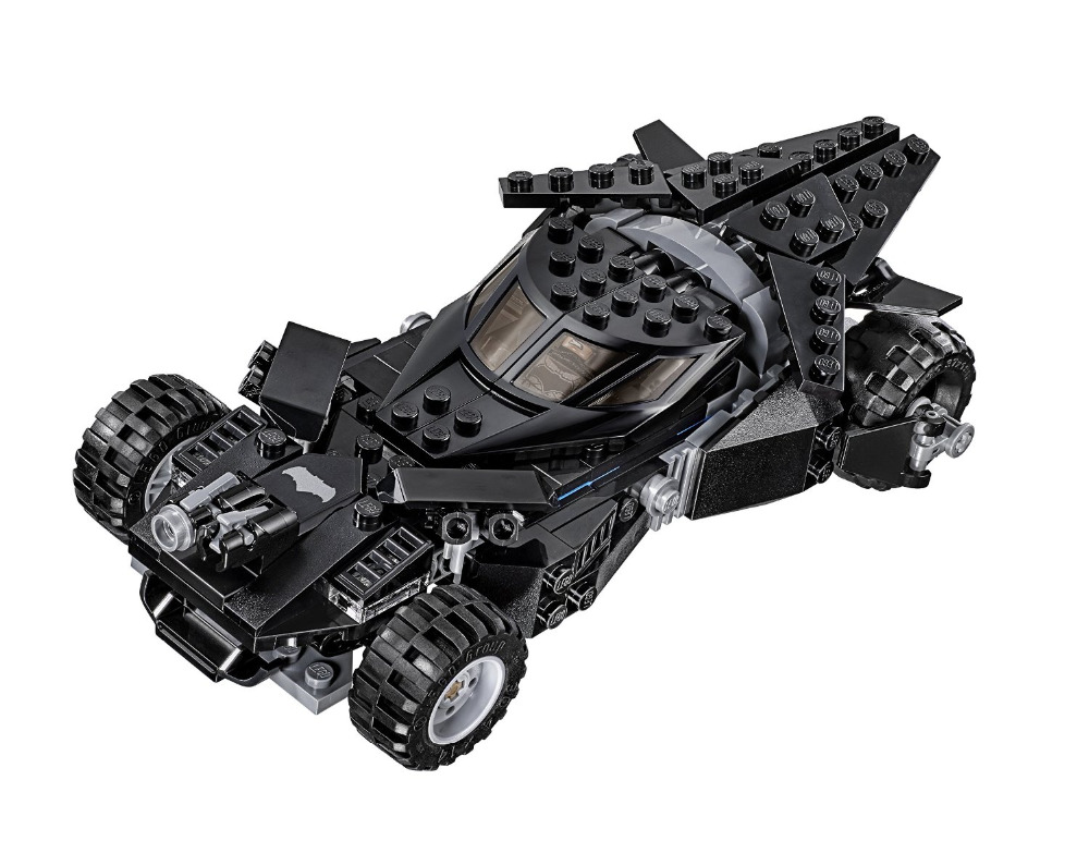 Batman Chariot Super Heroes Kryptonite Interception Superman Building Blocks Minifigures Marvel Model Toys Compatible Legoe