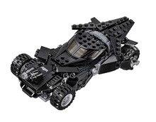 Batman Chariot Super Heroes Kryptonite Interception Superman Building Blocks Minifigures Marvel Model Toys Compatible Legoe