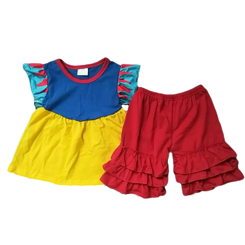 Kids Cotton Clothes Baby Girl Children Clothes For Summer Wear
