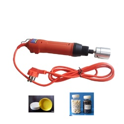 Handheld electrical capping machine for e liquid bottle /dropper cap