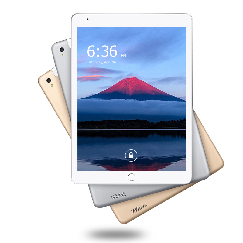 New Metal Shell 10.1 Inch Tablet PC Android 8.0 Octa Core 6GB+64GB 1280*800 IPS Bluetooth GPS 3G/4G LTE Smart Tablets Phone 10