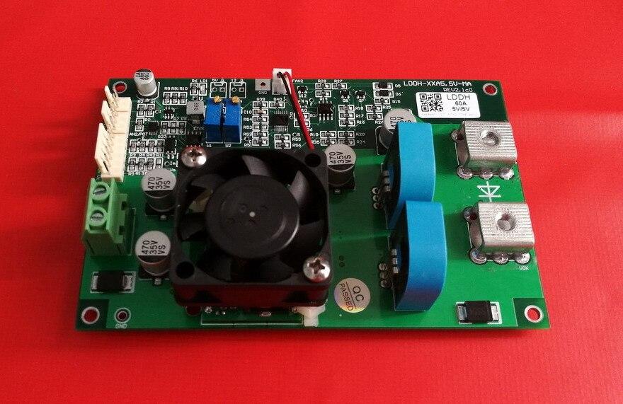 Carte dalimentation Laser, Laser semi-conducteur, carte pilote de Diode Laser, 60A5. 5 V, haute vitesseCarte dalimentation Laser, Laser semi-conducteur, carte pilote de Diode Laser, 60A5. 5 V, haute vitesse