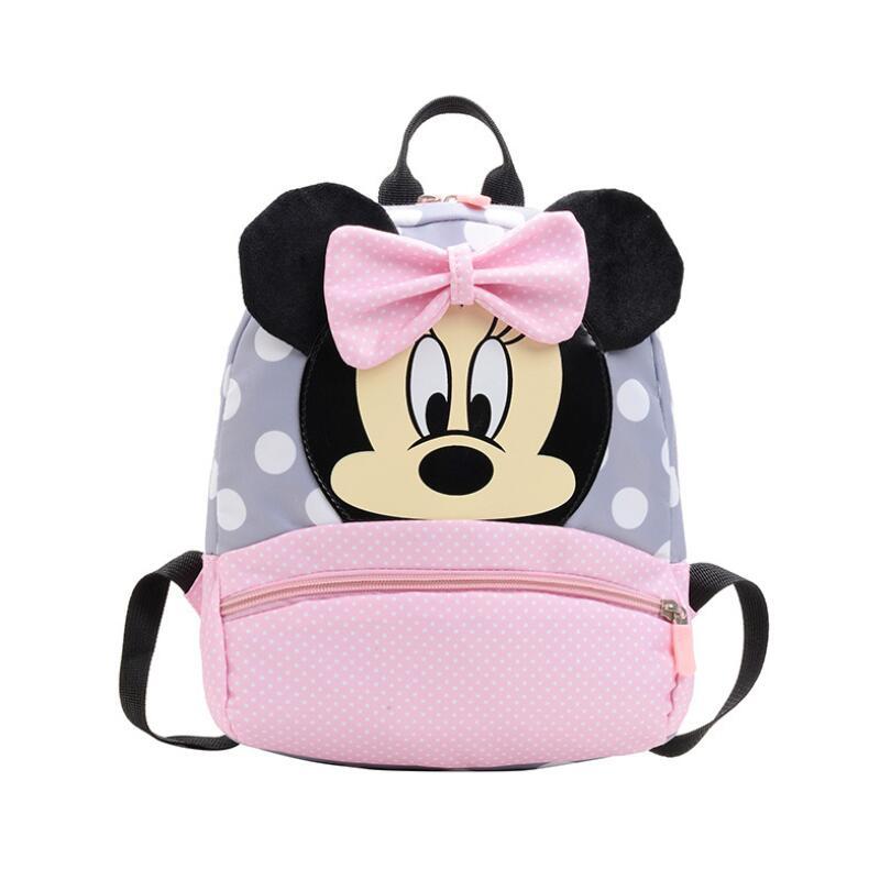 Hot Crianças saco do bebê do jardim de Infância Mochilas Crianças Sacos de Escola Dos Desenhos Animados Mickey Minnie Mochila para meninas Mochilas Mochila Bolso
