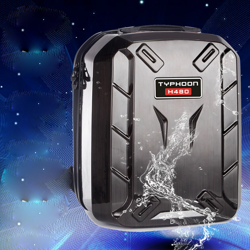 YUNEEC TYPHOON H H480 rc drone Hard Shell Backpack Waterproof Shoulder Bag Case hardshell box without