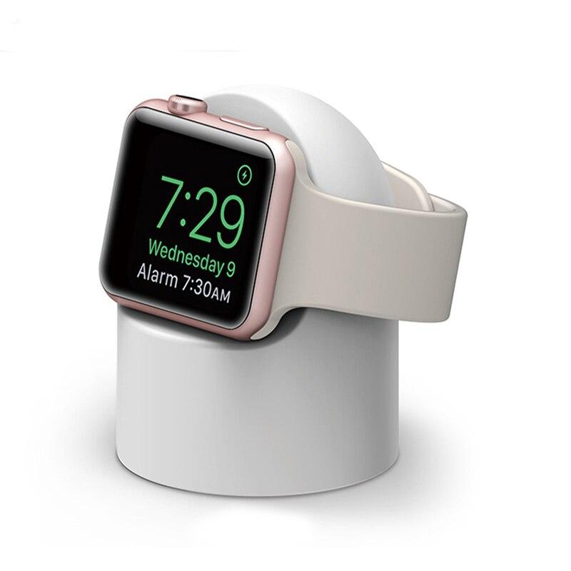 Magnetico Senza Fili Del Caricatore Del Basamento Per Apple Osservare Cavo di Ricarica USB Adattatore di Carica Dock Staffa per iWatch 1 2 3 4 38 m/42 millimetri
