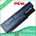 5200 mah batería para acer as07b31 as07b32 aspire 5230 5235 5310 5315 5730z 5920, envío gratis