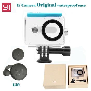 Original 45 mt Tauchen Wasserdicht Fall für Xiaomi Yi Sport Wasserdichte Schutz Box für Xiaomi yi Action kamera