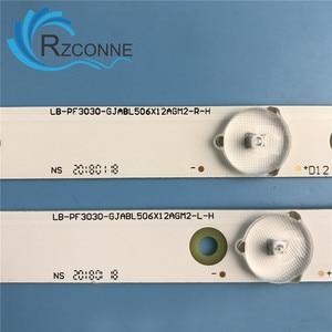 "Image 5 - 1004 millimetri striscia di Retroilluminazione A LED 12 lampada Per Philips 50 ""TV 50PUF6061/T3 LB PF3030 GJD2P5500612AG82 50AH42 R 50AH42L 50puk6400"