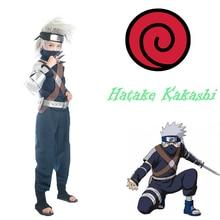 Бесплатная Доставка Naruto Shippuuden Хатаке Какаши Youngth Единая Аниме Косплей Костюм