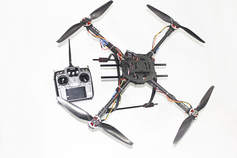 F07963-B Assembled RTF Kit 650 4-Axle  Folding 3K Carbon Fiber Frame Kit with AT10 TX&RX NO Adapter Battery рено сценик rx 4 в мурманске