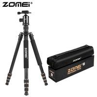 ZOMEI Z668 Camera Tripod & Monopod Lightweight Travel Tripod with 360 Degree Ball Head and Carry Bag for SLR DSLR Digital Camera