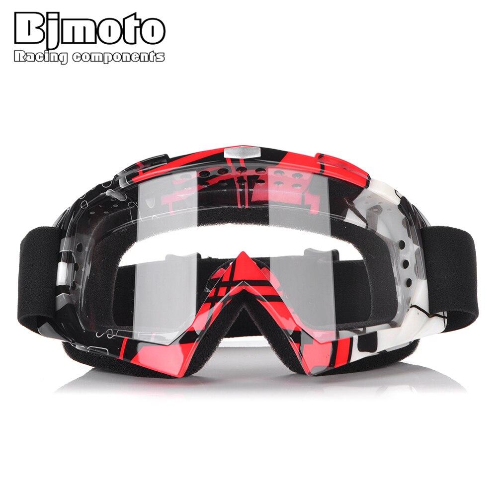 Очки для мотокросса BJMOTO, спортивные гоночные очки для мотокросса, солнцезащитные очки для грязевого велосипеда, квадроцикла, внедорожного ...