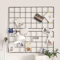 Collalily Nordic Metal Modern Design Display Picture Photo Wall Hanging Shelf Robe Hook Coat Racks For