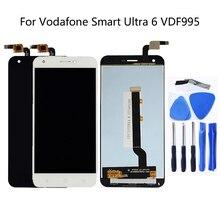 ل فودافون الذكية جدا 6 VDF995 VF995 VF 995N VF995N كامل LCD عرض مع شاشة تعمل باللمس محول الأرقام كيت شحن مجاني