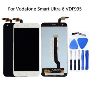 Image 1 - Para a Vodafone Inteligente Ultra 6 VDF995 VF995 VF 995N VF995N Kit Display LCD Completa com Digitador Da Tela de Toque Frete Grátis