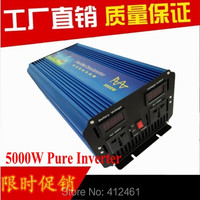 5000W Pure Sine Wave Inverter 10000W Peak DC12v To 220V For Wind And Solar Energy System