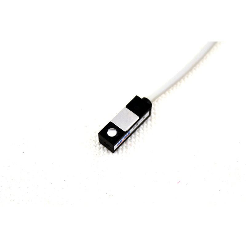 CS1-S Air Cylinder Magnetic Sensor Reed Switch AC/DC 5V - 240V 100mA 2meters line for CDJ2B MA MAL MI MF MG MAC PB ...