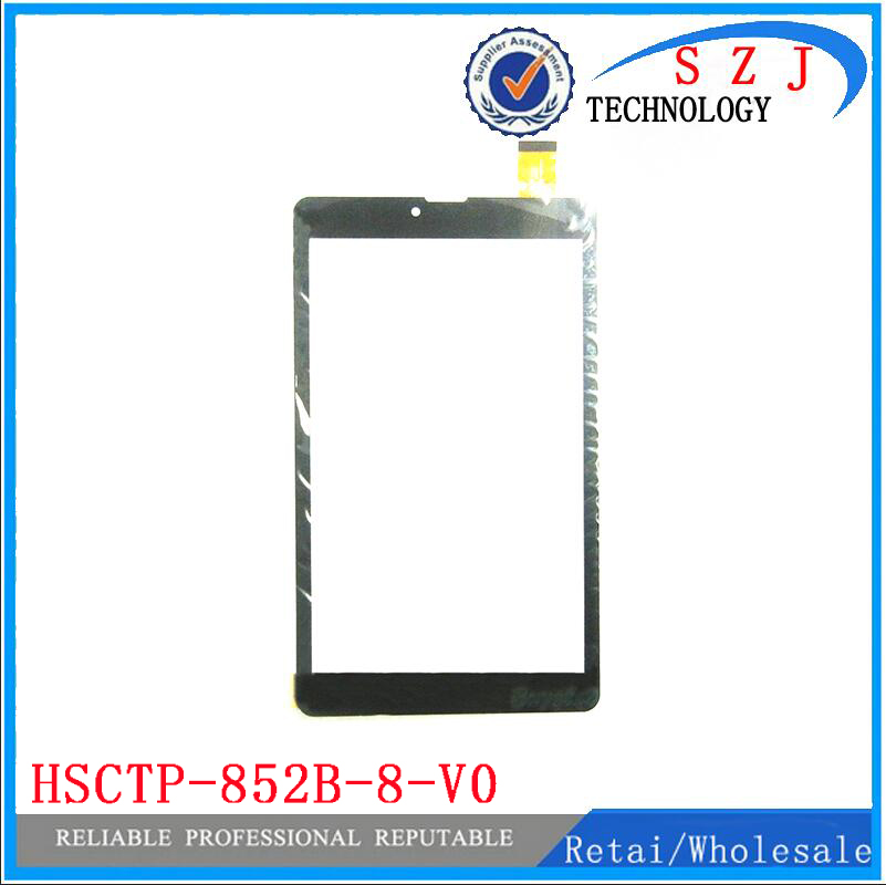 New 8 inch Tablet PC HSCTP-852B-8-V0 Capacitive Touch screen panel Digitizer Sensor Replacement Free Shipping 10pcs/lot black new 8 tablet pc yj314fpc v0 fhx authentic touch screen handwriting screen multi point capacitive screen external screen