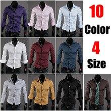 10 new special VSKA solid color men's wild Slim casual long-