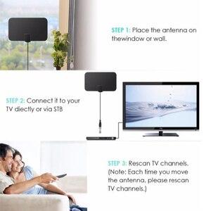 Image 5 - Цифровая ТВ антенна HD TV DTV с высоким коэффициентом усиления, 25 дБ, 1080P Внутренняя антенна, мини DVB T/T2 телевизионные антенны HD 174 МГц 240 470 МГц