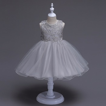 Kids Dresses For Girls age 3 4 5 6 7 8 9 10 year old dance wear Graduation wedding daughter gift tulle Cute Princess Dress 2018 1