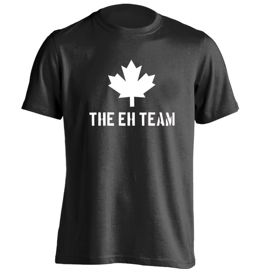 Design t shirt online canada - Canada Eh Team Mens Womens Printing T Shirt Design T Shirt China Mainland