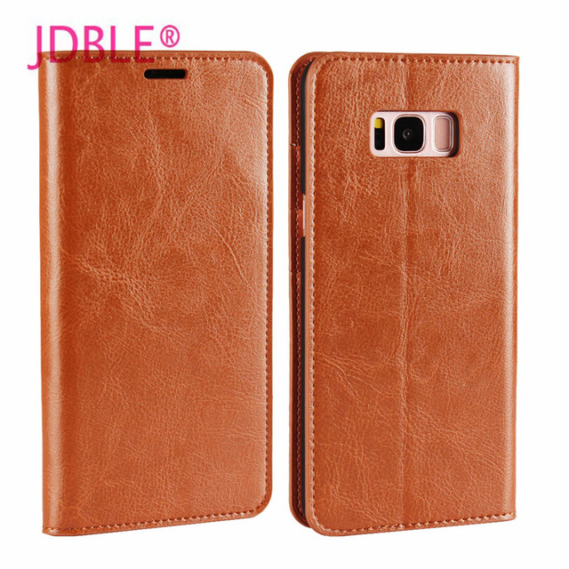 JDBLE Luxury Coque Flip Cover For Samsung Galaxy S8  S8Plus Retro