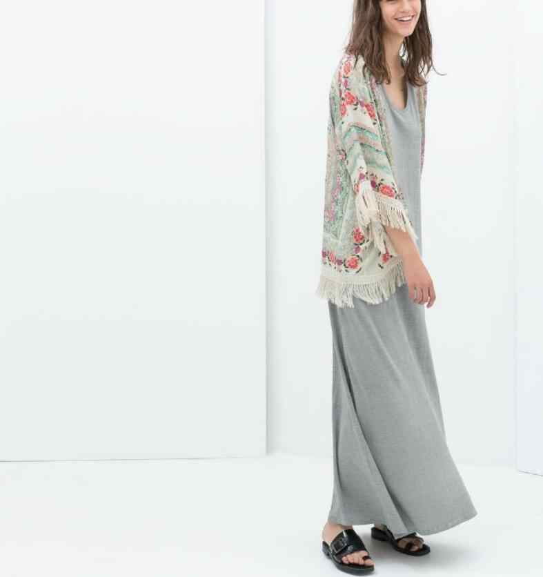 Блузка куртка летний топ шифоновая блузка Ретро бохо цветок кружева кардиган хиппи кимоно пальто
