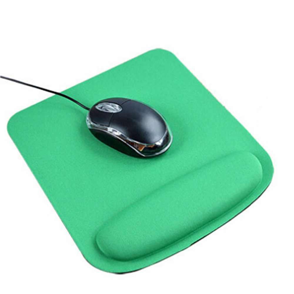 Игровой коврик для мыши с подушечкой для запястья защита Оптический трекбол ПК утолщение поддержка запястья удобный коврик для мыши для геймеров