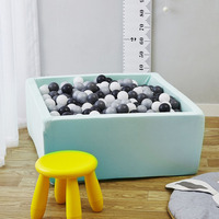 Play House Baby Ocean Ball Pool Pit Grey Pink Blue Outdoor Fun and Sports Fencing Manege Tent Square Ball Pits Toys for Kids