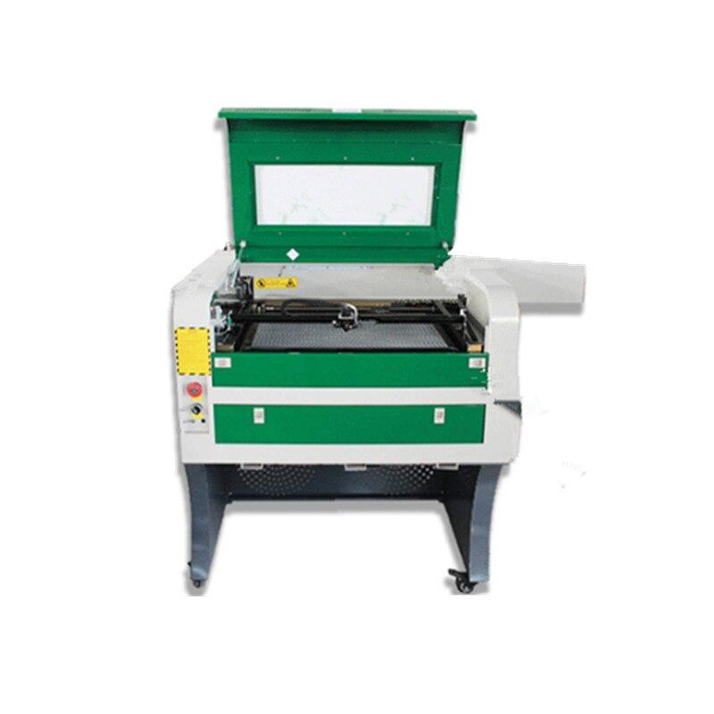 Высокое качество 4060 50 Вт Лазерный резак CO2 лазерная гравировка машина для дерева акриловая Резина