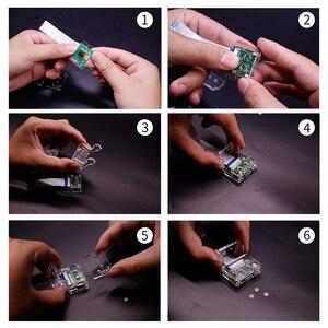 Image 5 - ラズベリーパイ 3b + カメラケース/カメラモジュールブラケット、保護シェルとブラケット 2in1 アクリル透明シェル、のみケース