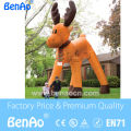 X102 Hot sale Fast free+blower Inflatable Reinbeer /giant inflatable reindeer/inflatable christmas Reindeer for sale