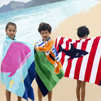 Summer Superfine Cotton Fiber Water Absorption Beach Towel Shaped Sport Bath Towels Women Swimming Sunbath Multifuctional