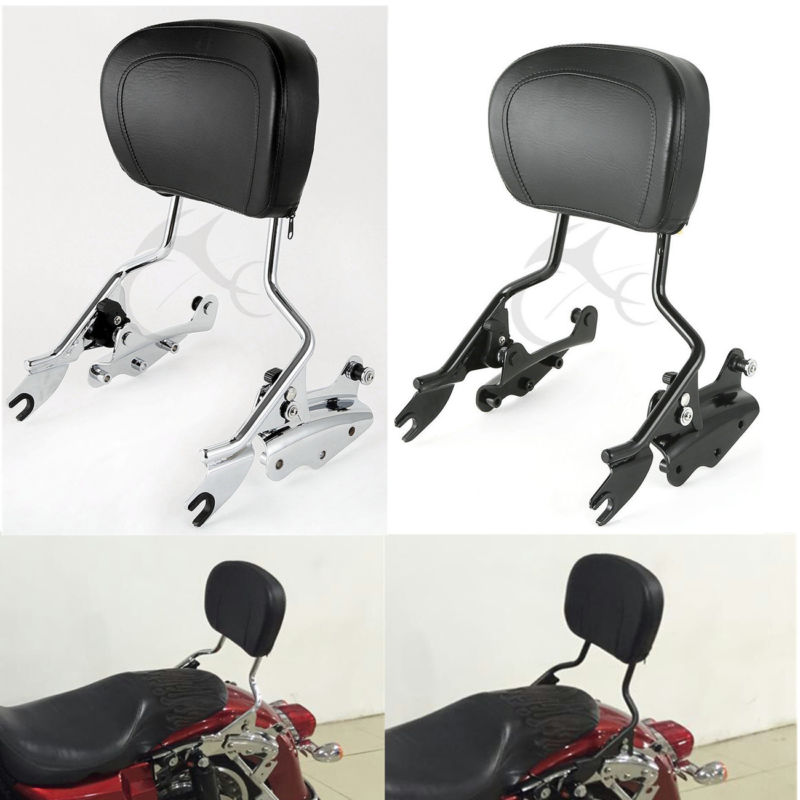 Dashing Motorcycle 4 Point Docking Hardware Backrest Sissy Bar For Harley Touring Electra Road Street Glide Flhr Flhx Flht Flhtcu 09-13 Motorcycle Accessories & Parts Carrier Systems