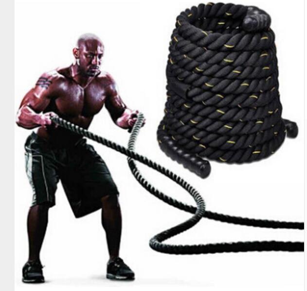 9 M * 50 MM Durevole Per Il Fitness corde Corda Palestra di allenamento Fisico battle rope - 4