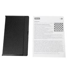 OOTDTY Карманный складной магнитный Международный шахматный набор шашки путешественник самолет дропшиппинг