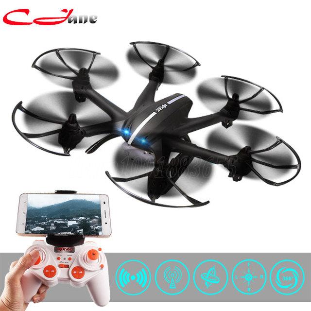 MJX envío libre X800 RC helicóptero quadcopter drone con C4015 Wifi FPV Cámara HD HD VS MJX X600 X400 Negro blanco