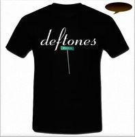Orden T Camisas crew Masajeadores de cuello Deftones Minerva metal banda alternativa B-Manga corta camiseta para hombre