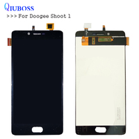 QIUBOSS For Doogee Shoot 1 LCD Display And Touch Screen 5 5inch Good Quality For Shoot