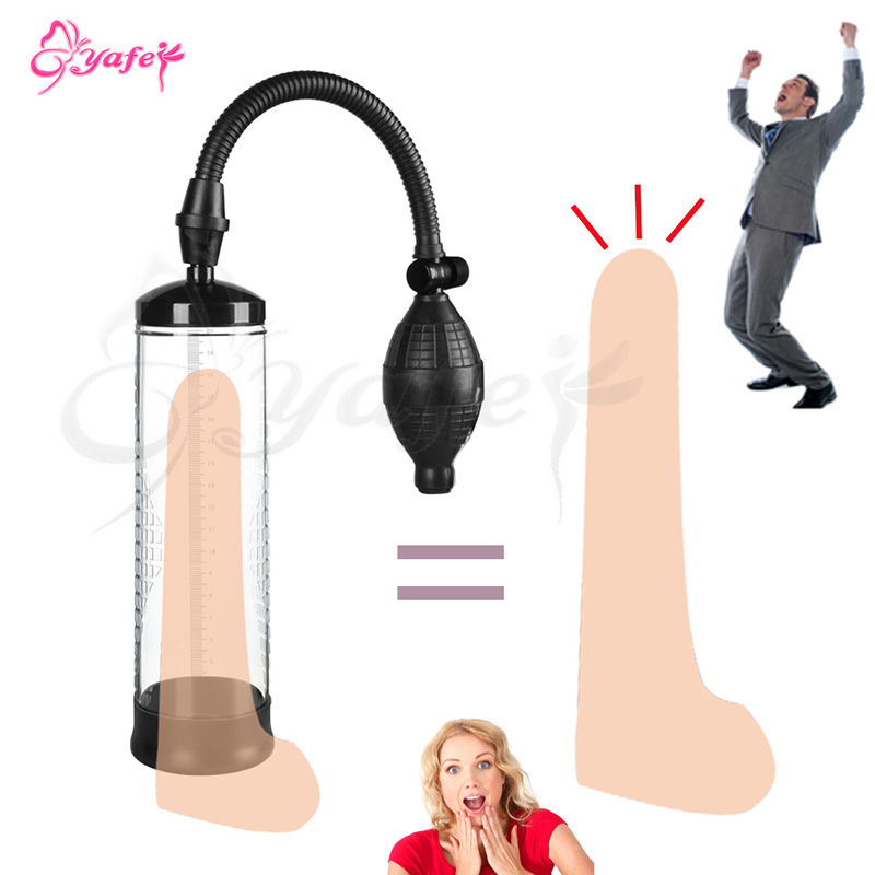 Penis Pump Vacuum Penis Enlargement Enhancer Penis Extender Health Male Penis enlarger Sleeve Dick Sex toy for Men Sex machine fashion women bracelet vintage weave wrap quartz cow leather clover beads wrist watches lady watch relojes mujer kow065